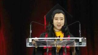 华裔女留学生演讲涉嫌辱华