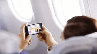 飞机上可以玩手机了?