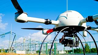 无人机空中拦截完成测试