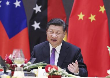 习近平同太平洋岛国领导人发表主旨讲话