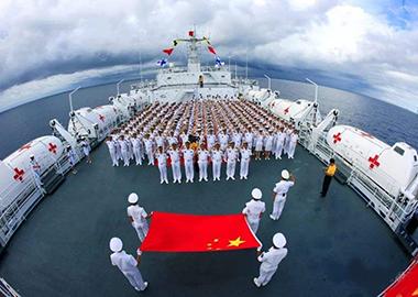 《人民海军70年》宣传片