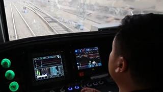 首列智能驾驶重载列车开行
