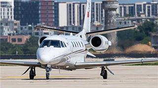 海口美兰机场二期开始校飞