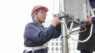 浙江5G基站建設
