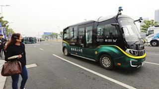 苏州5G无人驾驶公交运行