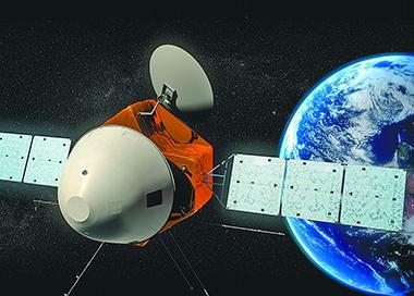 天问一号探测器完成第三次轨道中途修正